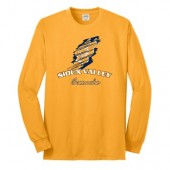 Sioux Valley Track and Field 02 Port and Co 50/50 Cotton Poly Blend Long sleeve T Shirt