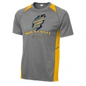 Sioux Valley Track and Field 03 Sport Tek 100% Poly Colorblock Short Sleeve T Shirt