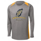 Sioux Valley Track and Field 04 Sport Tek 100% Poly Long Sleeve T Shirt