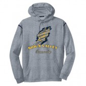 Sioux Valley Track and Field 06 Sport Tek Colorblock Hooded Sweatshirt