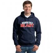 Blast Softball 07 Adult and Youth Gildan 50/50 Hooded Sweatshirt