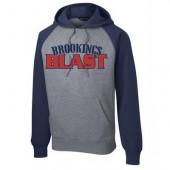 Blast Softball 06 Sport Tek Colorblock Sweatshirt