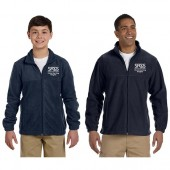 Sioux Falls Catholic Schools 01 Adult and Youth 8 oz Full Zip Fleece