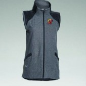 Brookings Football 2016 13 Ladies Under Armour Fleece Vest