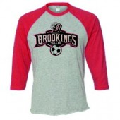 Bobcat Soccer_16 01 Mens and Ladies Jersey Baseball T Shirt (60/40 Ringspun Cotton/ Poly Blend)