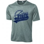 13U State A Baseball Tournament 01 100% Polyester Moisture Wicking Short Sleeve T Shirt