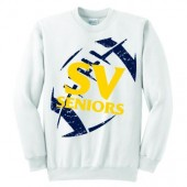 SVHS Seniors 01 Port and Co 50/50 Cotton Poly Blend Crewneck Sweatshirt