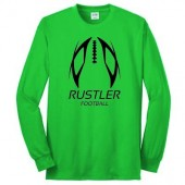 Miller Football 2016 02 50/50 Cotton Poly Blend Long Sleeve T Shirt