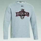 Bobcat Soccer_16 03 Mens Under Armour Crewneck Fleece Pullover