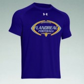 Flandreau Football 2016 03 Mens, Ladies, and Youth Under Armour Short Sleeve T Shirt