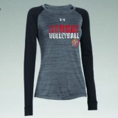 Bobcat Volleyball 2016 05 Mens, Ladies, and Youth Under Armour Novelty Longsleeve T Shirt