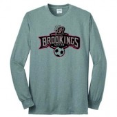 Bobcat Soccer_16 07 Adult and Youth 50/50 Cotton Poly Blend Longsleeve T Shirt