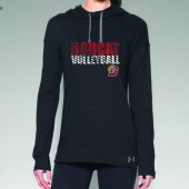 Bobcat Volleyball 2016 07 Ladies Under Armour Lightweight Stadium Hooded Longsleeve T Shirt