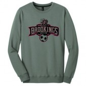 Bobcat Soccer_16 08 Adult District 50/50 Cotton Poly Blend Crewneck Sweatshirt