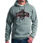 Bobcat Soccer_16 09 Adult and Youth 50/50 Cotton Poly Blend Hooded Sweatshirt