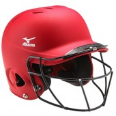 Northwestern Softball Player Gear 10 Red helmet