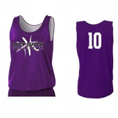 MOC-Floyd Valley Girls Basketball 2017 10 A4 Reversible Practice Jersey