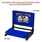 Sioux Falls Christian Soccer 2017 10 Folding Stadium Chair