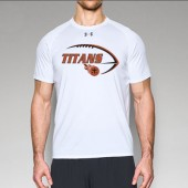 Sioux Center Titans Youth Football 2017 10 Under Armour Locker Tee