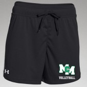 "MCM Volleyball 2016 10 UA Shorts 4"" inseam"