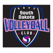 South Dakota Club Volleyball 2017 10 Car Decal
