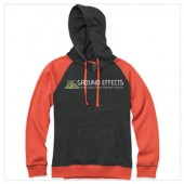 Ground Effects Employee 2017 10 MV Sport Women's Harper Raglan Hooded Pullover