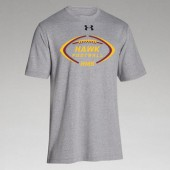 HMS Football 2017 10 UA Mens Stadium Short Sleeve Tee
