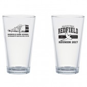 Redfield All School Reunion 10 Classic Ale Pint Glass- LOCAL PICK UP ONLY