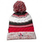 NWC Softball Fan 2016 11 Sport Tek Pom Pom Team Beanie