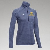 Mount Marty Volleyball 2017 11 UA Ladies Stripe Tech ¼ Zip