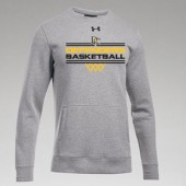 Dordt Men's Basketball Fan Gear 2017 11 UA Hustle Fleece Crew