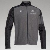Northwestern Mens Basketball Fangear 12 UA Team Performance Full Zip Fleece