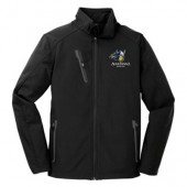Augustana Wrestling 2016 12 Mens Soft Shell Jacket with Media Pocket