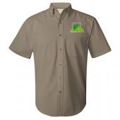 Ground Effects Employee 2017 13 Featherlite Short Sleeve Twill Shirt