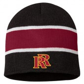 Roosevelt Soccer 2016 13 Striped Knit Beanie