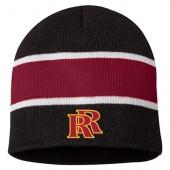 Roosevelt Soccer 2016 13 Striped Knit Beanie