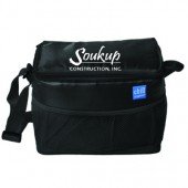 Soukup Construction 15 Flexi Freeze 6 can Cooler with mesh pockets