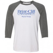 Briar Cliff University Physical Therapy 16 Bella ¾ Sleeve Baseball t-shirt - Unisex