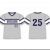Buckaroo Softball Apparel 01 Alleson Sublimated Baseball V-Neck Jersey