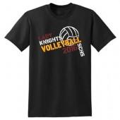 SCHS Volleyball 01 50/50 Tshirt