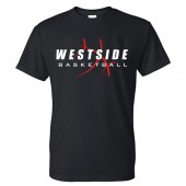 Omaha Westside Basketball 2016 01 Gildan 50/50 Blend T-Shirt