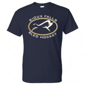 Sioux Falls Sled Hockey 01 Gildan 50/50 Tee