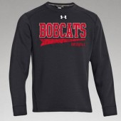 Bobcat Baseball 2017 01 Under Armour Rival Fleece Crewneck
