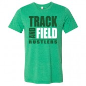 Miller Track and Field  2017 01 Canvas Bella Ringspun Cotton Short Sleeve t shirt