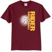Roosevelt Volleyball 2017 01 Port & Company® Core Blend Tee