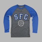 Sioux Falls Christian Volleyball 2017 01 Boxercraft Men's Long Sleeve Raglan