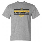 Dordt Men's Basketball Fan Gear 2017 01 Gildan Short Sleeve 50/50 Tee
