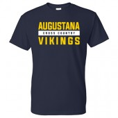 Augustana Cross Country and Track & Field 2017 01 Gildan Short Sleeve Tee