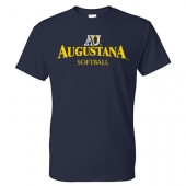 Augustana Softball 2017 Fans 01 Gildan Dry-Blend Short Sleeve Tee