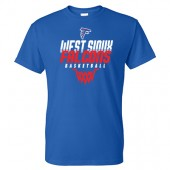 West Sioux Basketball 2017 01 Gildan Short Sleeve Tee